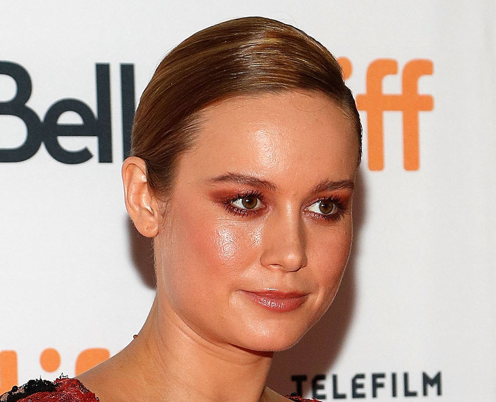 Brie Larson's t-shirt and floral skirt outfit is dream fall fashion goals