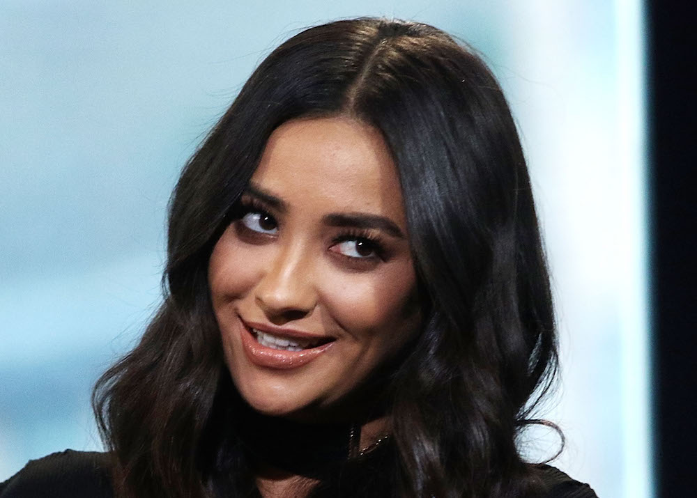 Shay Mitchell's blue bathing suit makes us wish summer wasn't over