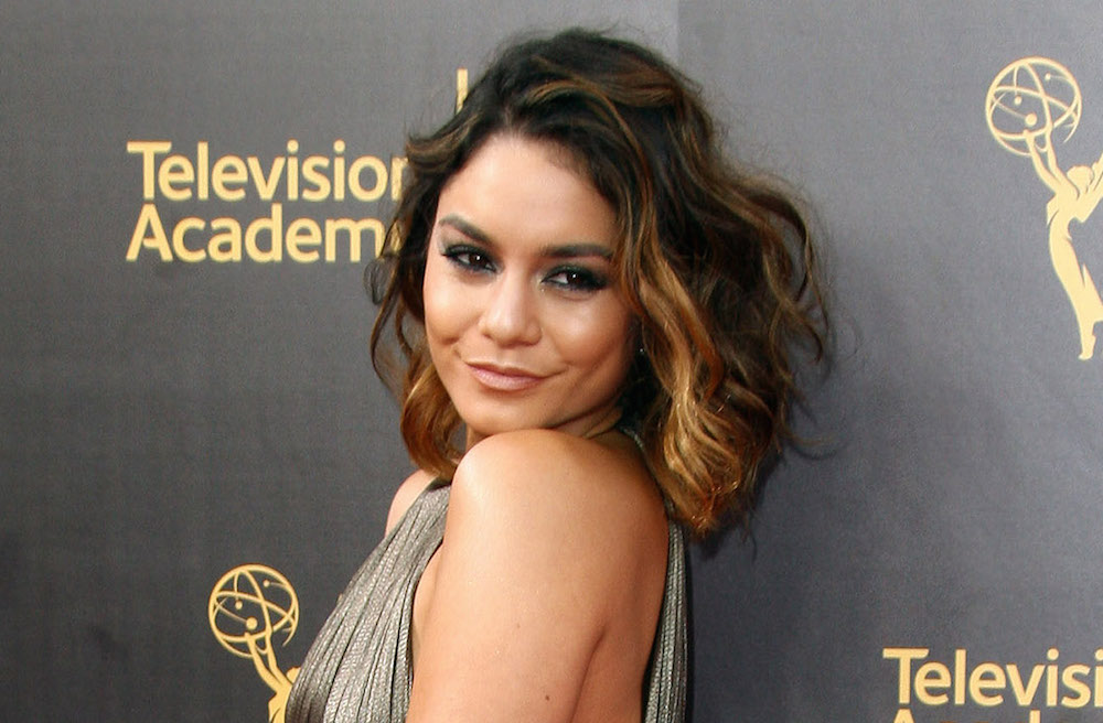 Vanessa Hudgens looked like a total space goddess on the red carpet
