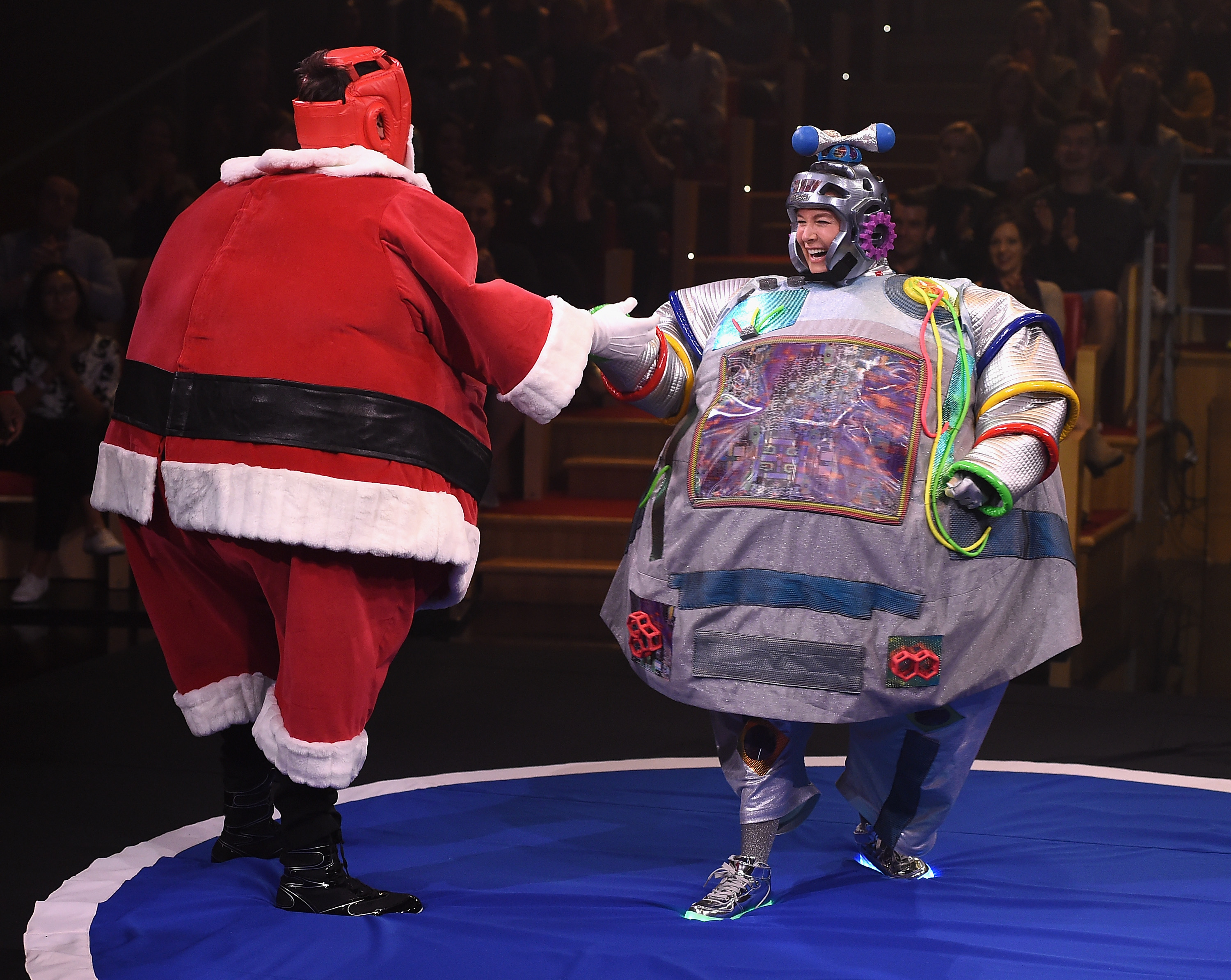 Renée Zellweger and Jimmy Fallon costume wrestled, and it's the best thing we've ever freaking seen