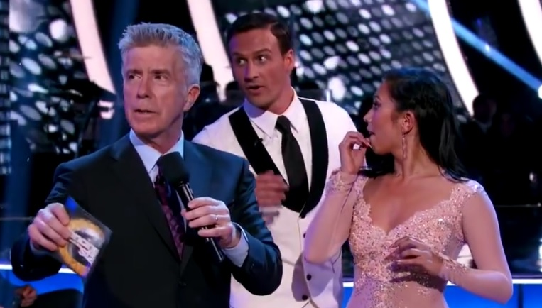 """So, what actually happened to Ryan Lochte on """"Dancing With The Stars"""" last night?"""