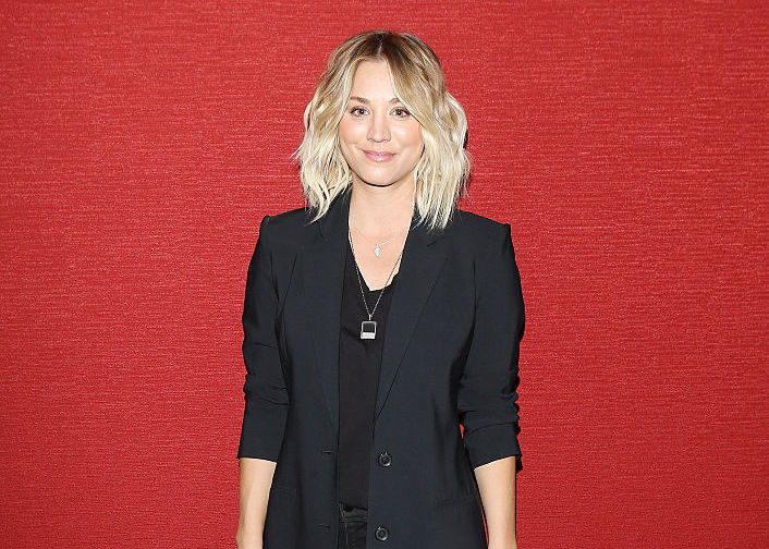 """We can't stop gawking at Kaley Cuoco's post-apocalyptic glam hair (inspired by """"Mad Max"""")"""