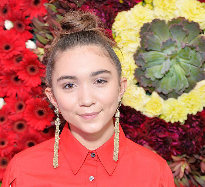 We're obsessed with Rowan Blanchard's updated Audrey Hepburn hair and makeup