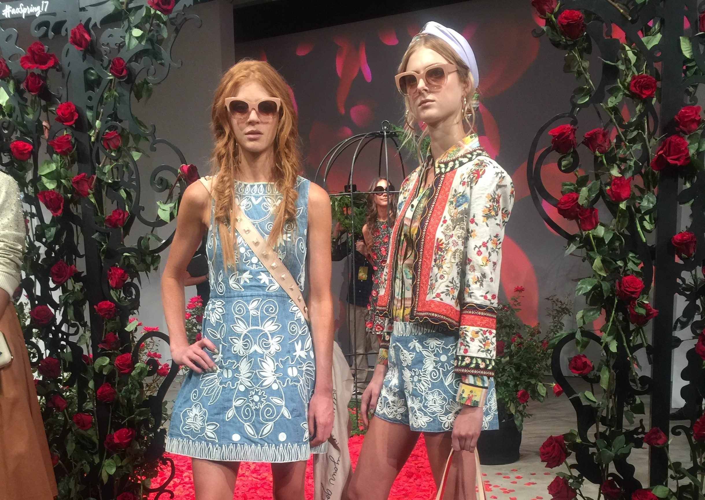 The Alice + Olivia show at NYFW was inspired by tarot cards, and we've never loved anything more