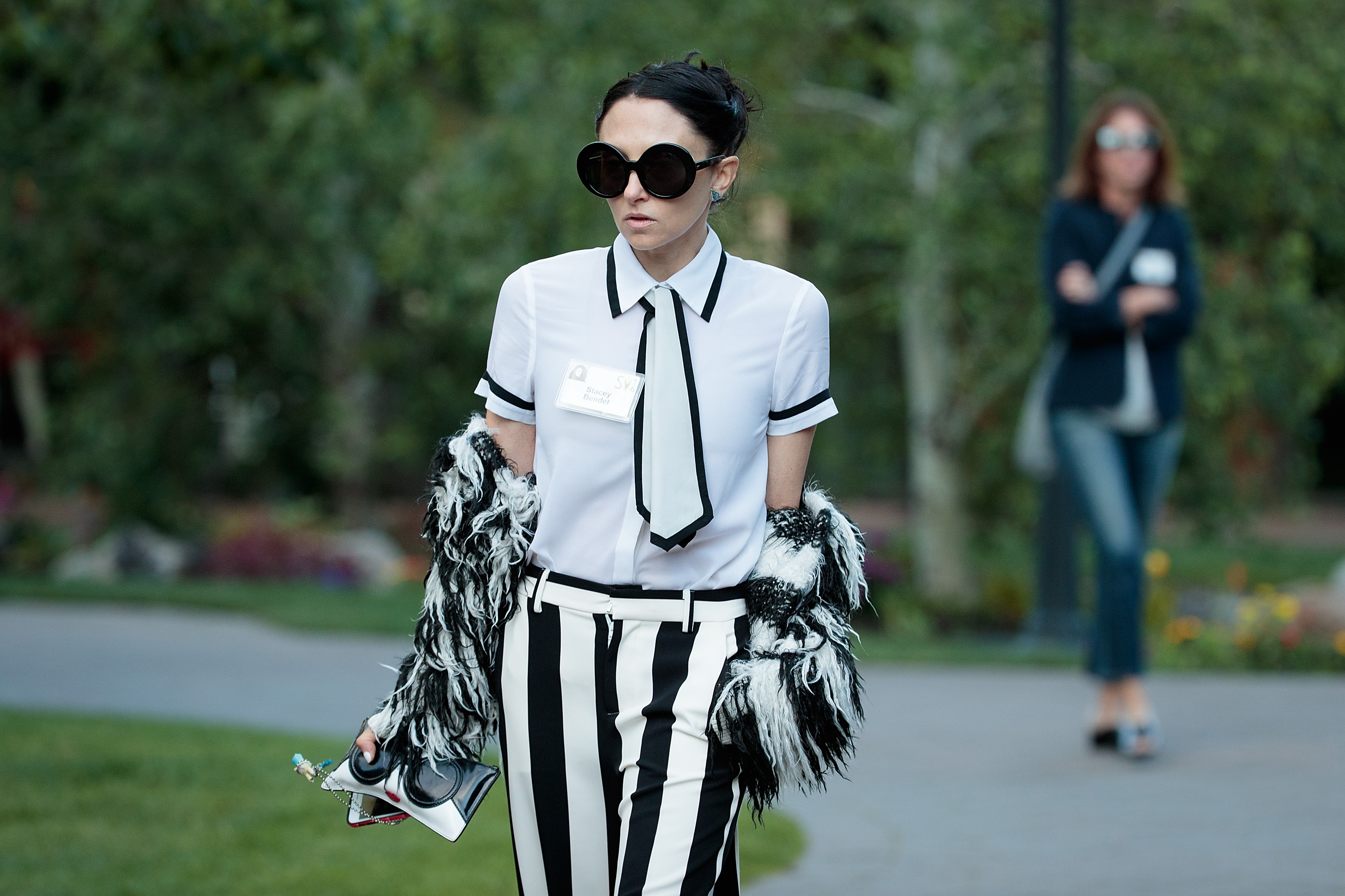 Stacey Bendet's skirt makes an important political statement at NYFW