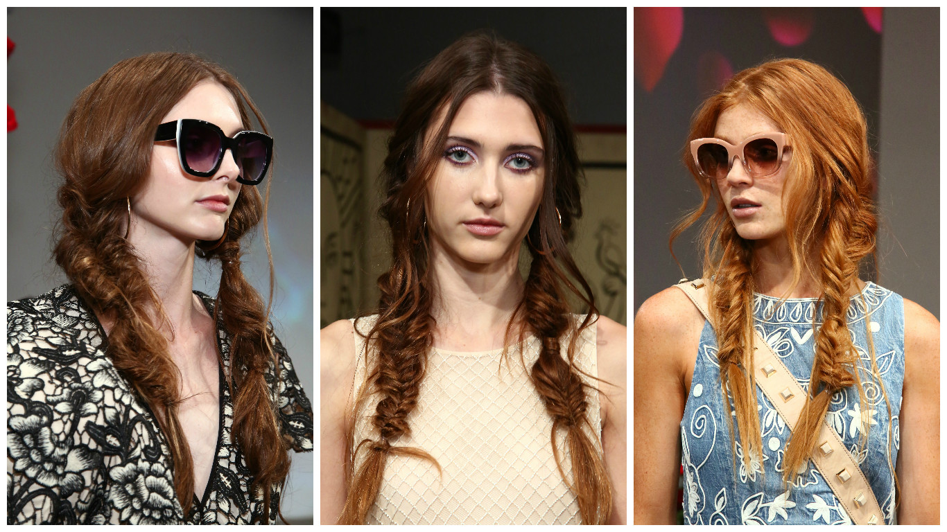 According to the Alice + Olivia NYFW show, mermaid braids will be taking over