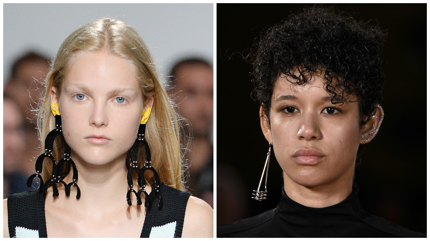Ear makeup is going to be the hottest beauty trend, thanks to NYFW