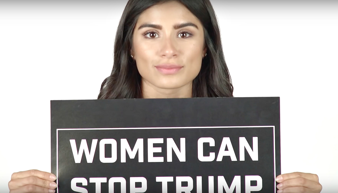 Our fave celebs are joining #WomenCanStopTrump, and we're so curious