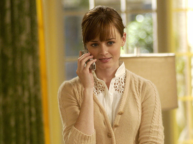 Alexis Bledel gives us a sneak peek at what Rory Gilmore's grownup life is like