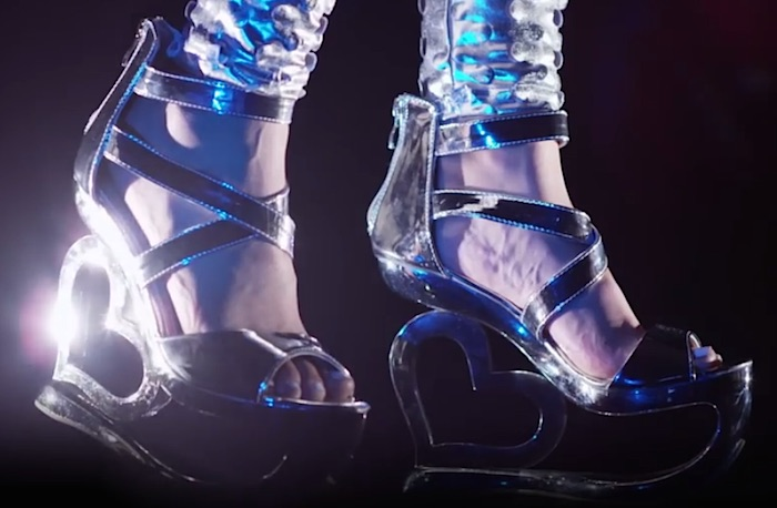 This stylishly creepy history of high heels video is giving us LIFE