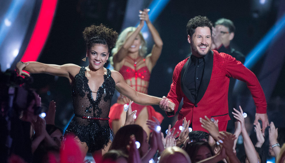 """This behind-the-scenes video of Laurie Hernandez on """"Dancing with the Stars"""" will make you love her even more"""