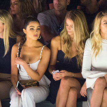 Behold! All of fashion's ~it girls~ in one epic NYFW photo