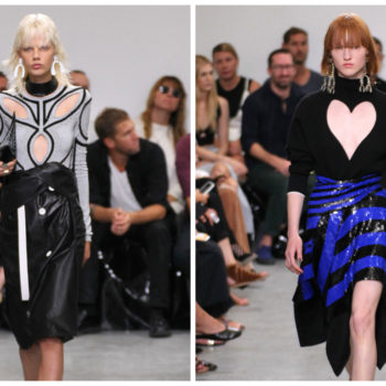 Proenza Schouler took cutouts to the next level at NYFW