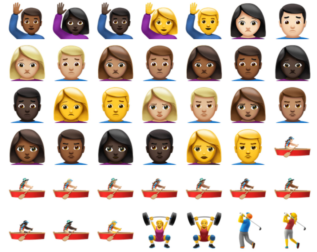 Time to celebrate: The iOS 10 upgrade has brought us 72 new emojis!