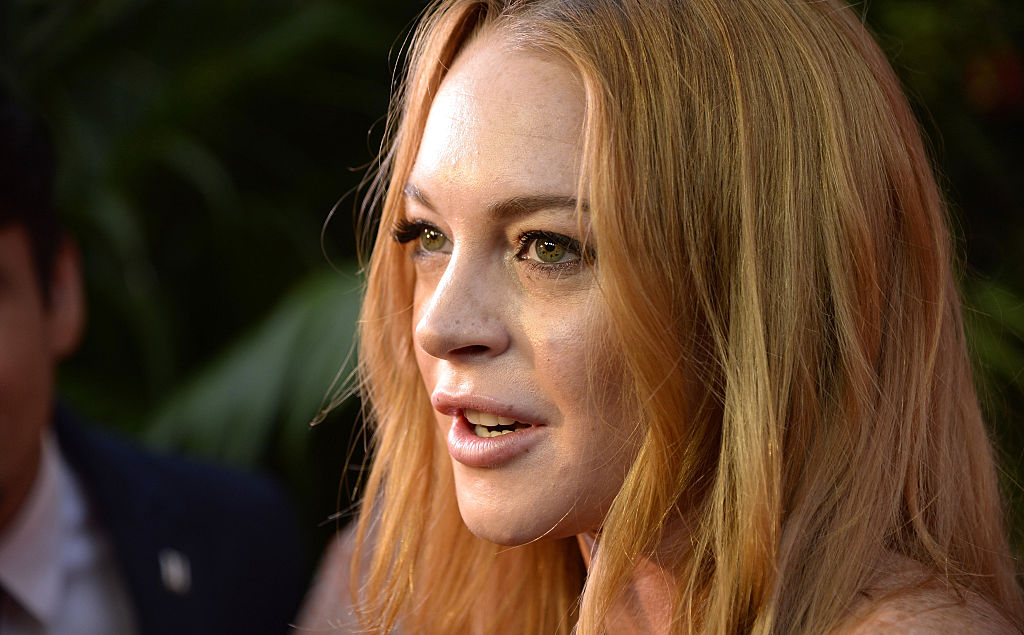 So, it looks like Lindsay Lohan is going to be appearing on a cooking show
