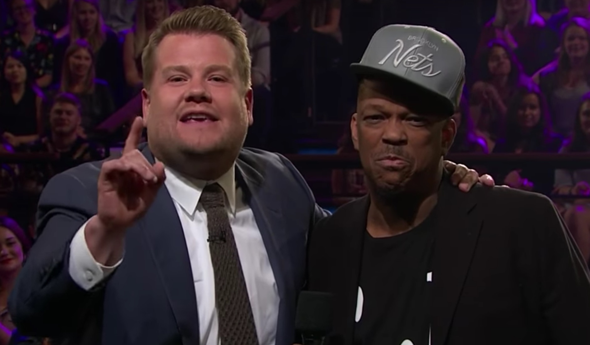 James Corden brought the viral subway singer with a golden voice on his show and we have goosebumps