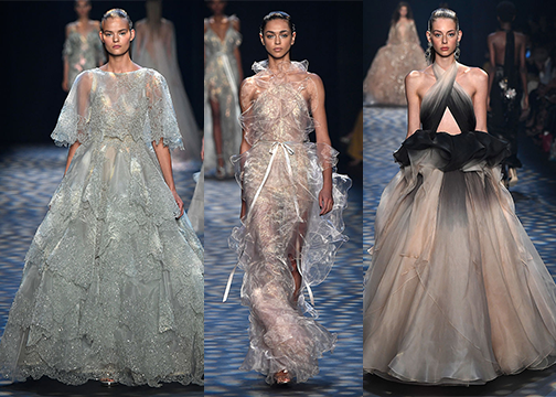 These incredible NYFW looks from Marchesa give us modern Disney princess vibes