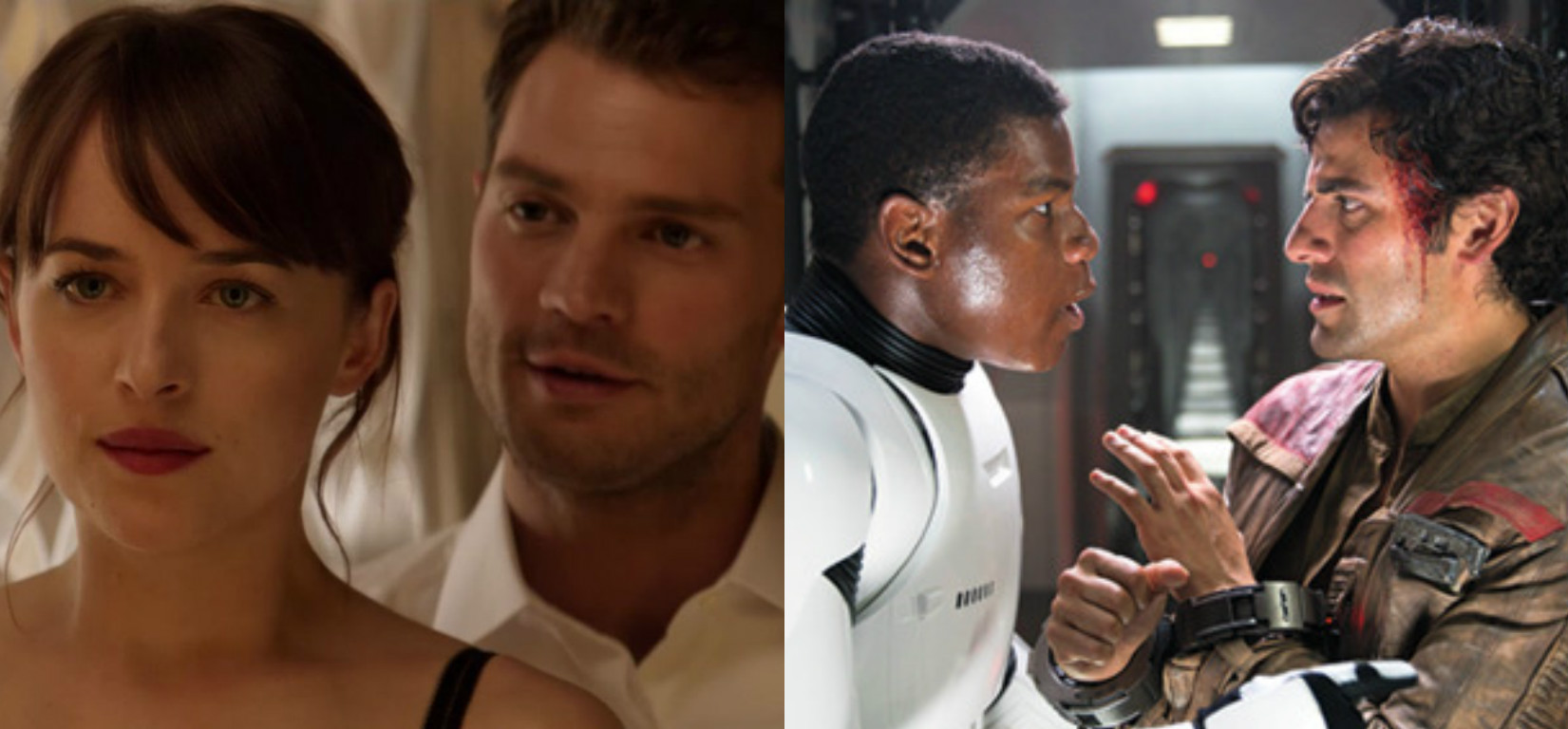 """Fifty Shades Darker"" just beat ""Star Wars"" at this surprising record"