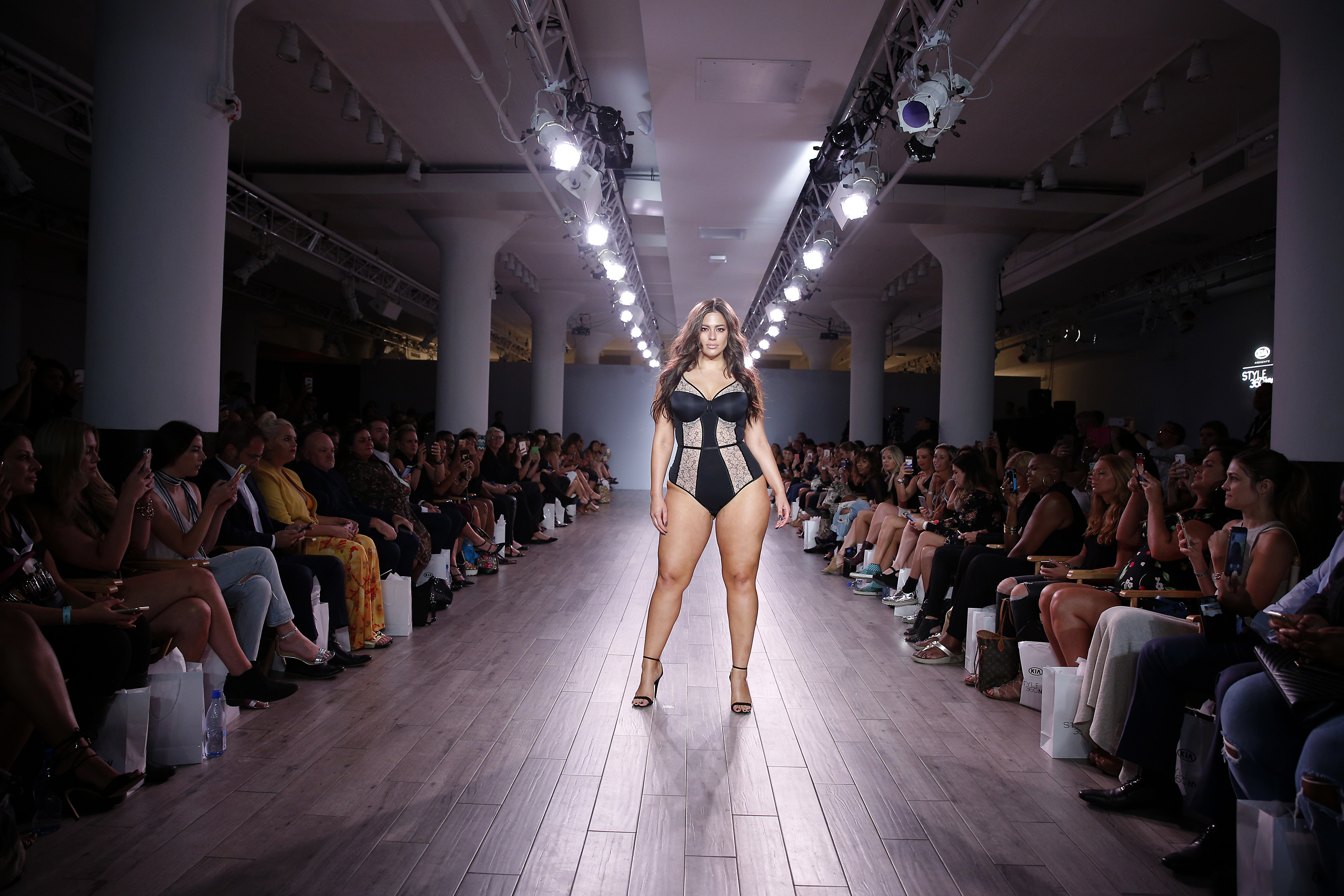 A look at Ashley Graham's gorgeous lingerie line at NYFW