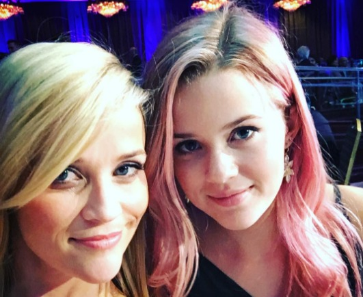 Reese Witherspoon's daughter Ava Phillippe is actually a really cool artist