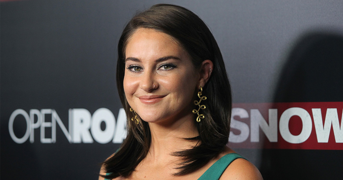 Shailene Woodley had THIS important thing to say about sex ed