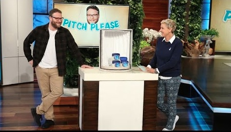 "Seth Rogen sells Vaseline on ""Ellen"" and we can't stop laughing"