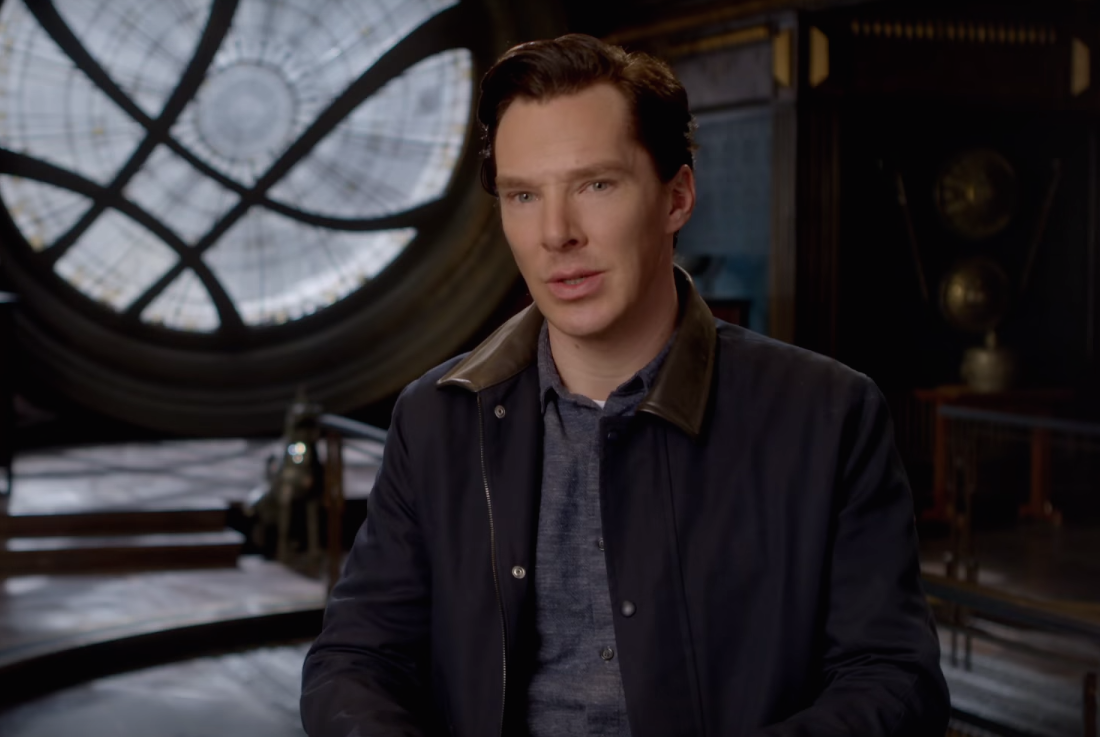 "This new ""Doctor Strange"" video tells us everything we need to know about Benedict Cumberbatch's new superhero"