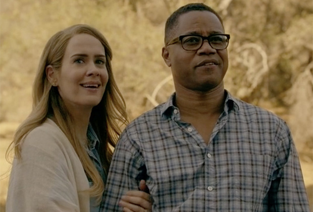 "You probably missed this super-clever ""American Horror Story"" Easter egg in the season premiere"