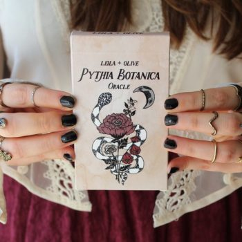 These tarot cards will look stellar on your coffee table AND help with all your divination desires