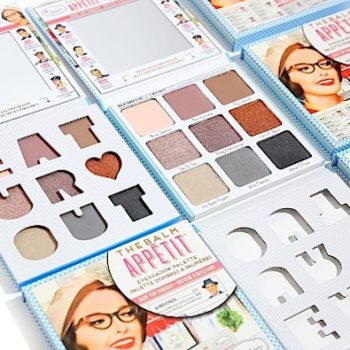 This adorable must-have eyeshadow palette from TheBalm Cosmetics launches today