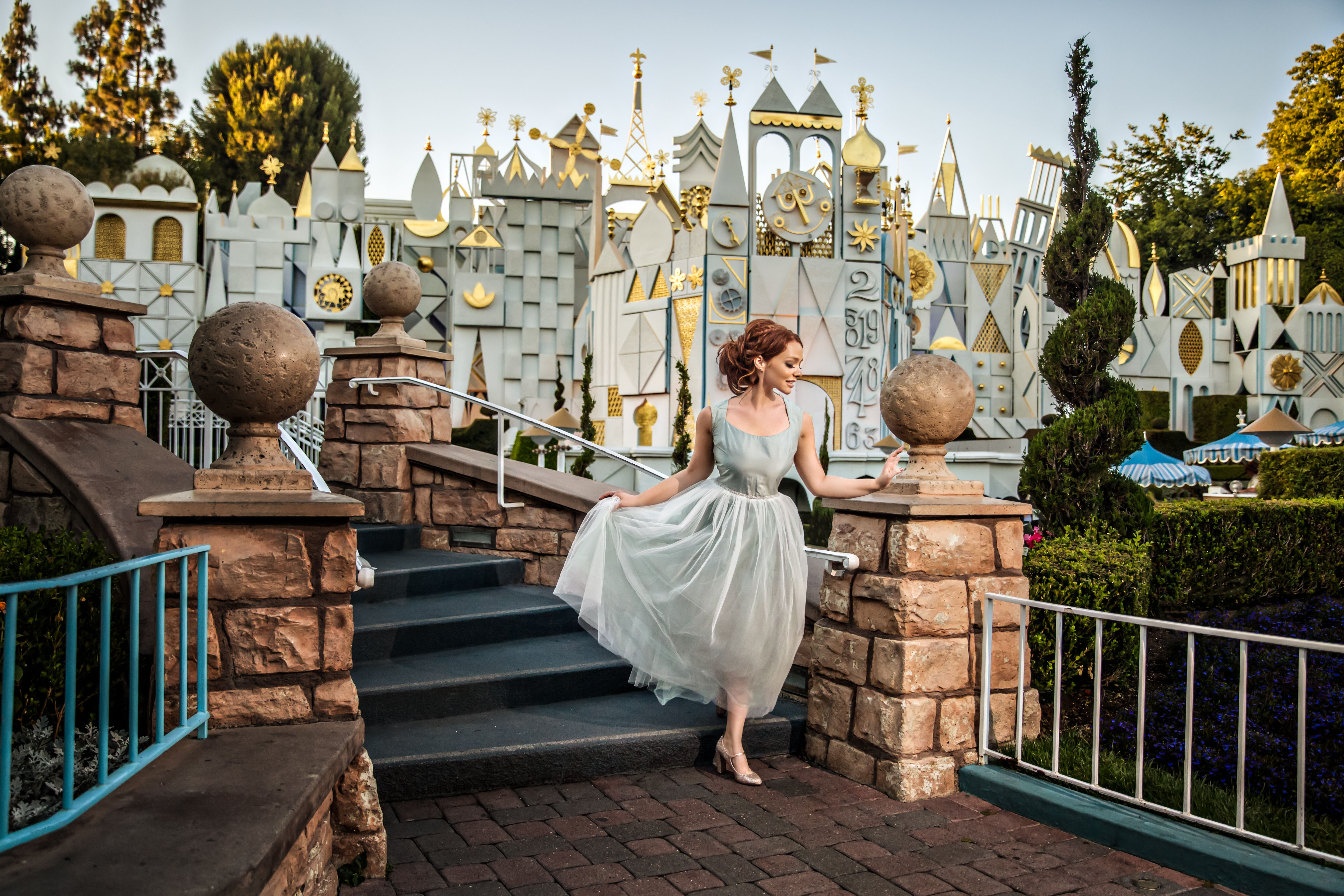 After a breakup this girl took the most beautiful Disney Princess-inspired solo engagement photos