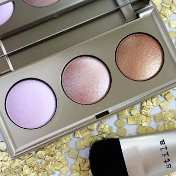 This stunning highlighting palette from Stila Cosmetics is inspired by the cosmos