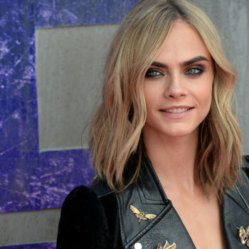 Cara Delevingne apparently has an incredible secret talent for blowing bubbles
