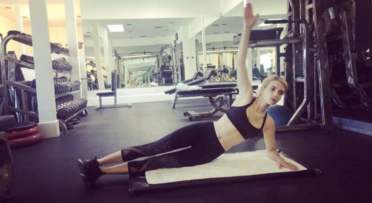 Emma Roberts working out is the fitspiration we needed today