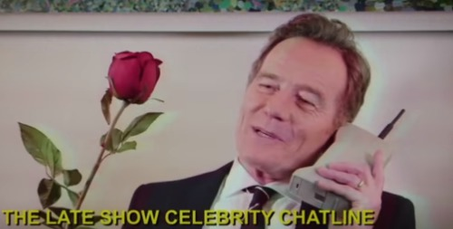 Bryan Cranston and a bunch of celebrities are awaiting your late night call in this hilarious sketch
