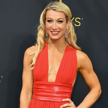 """""""American Ninja Warrior"""" star Jessie Graff just did *literal* high kicks at the Emmys and we can't believe our eyes"""