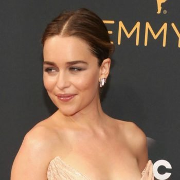 Emilia Clarke's nude dress at the Emmys is breathtaking