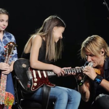 Keith Urban just let a young fan perform at his concert — and she blew everyone away with her talent