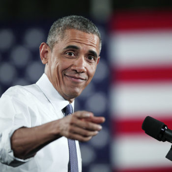 "Here's President Obama dancing to ""Hotline Bling"" as if we need another reason to love this man"
