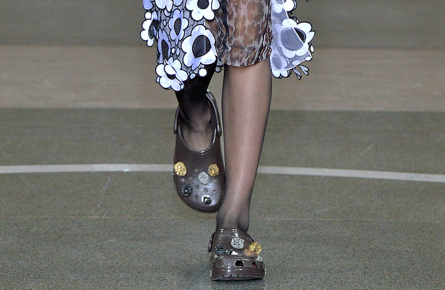 """In more """"ugly shoe"""" news, Crocs has now teamed up with this fashion house"""