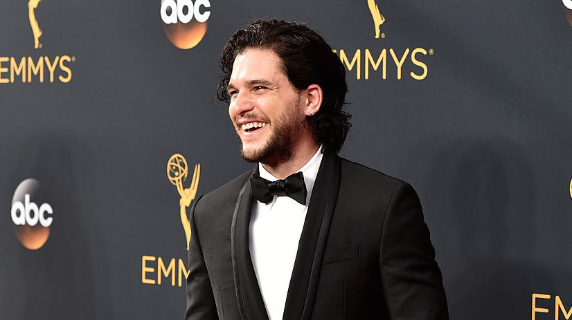 "Kit Harington basically bows down to this ""Love Actually"" actress"