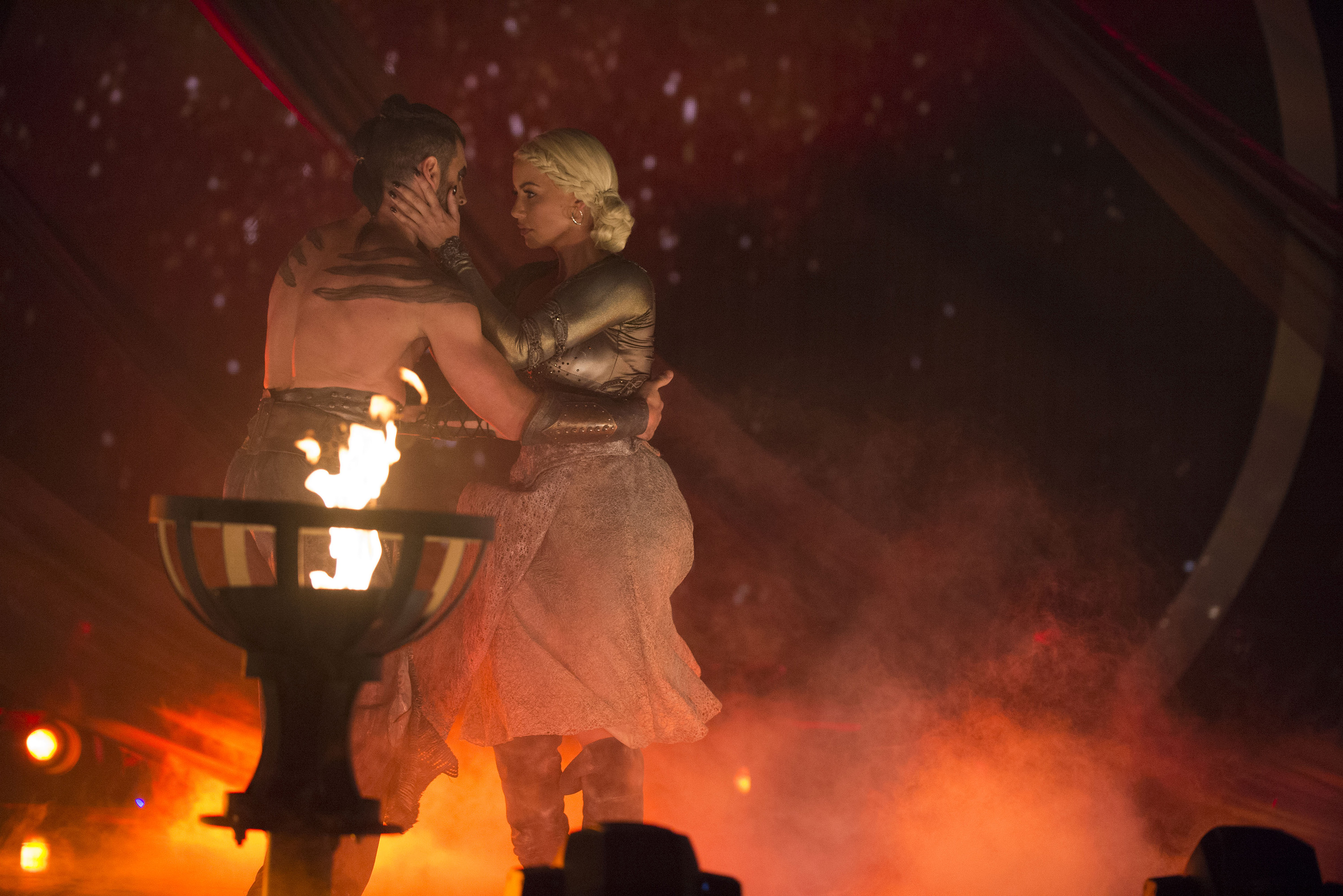 Amber Rose just gave us the Khaleesi/Khal Drogo wedding dance we've always wanted on DWTS
