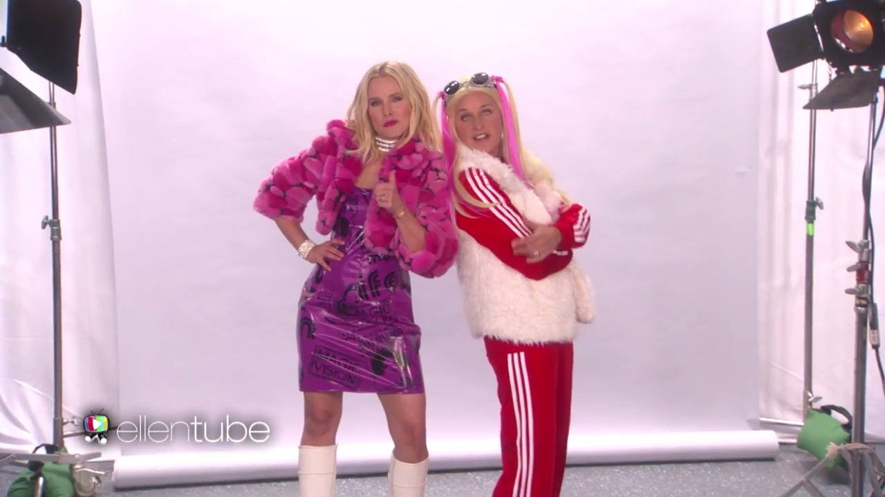 Kristen Bell and Ellen DeGeneres audition for the Spice Girls, and it's terrible in the best way imaginable