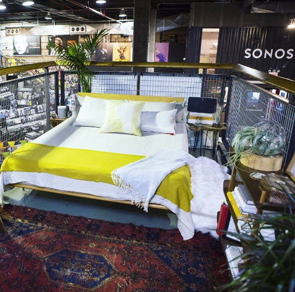Airbnb is having a contest to spend the night in this Brooklyn record story (and shop there, of course)