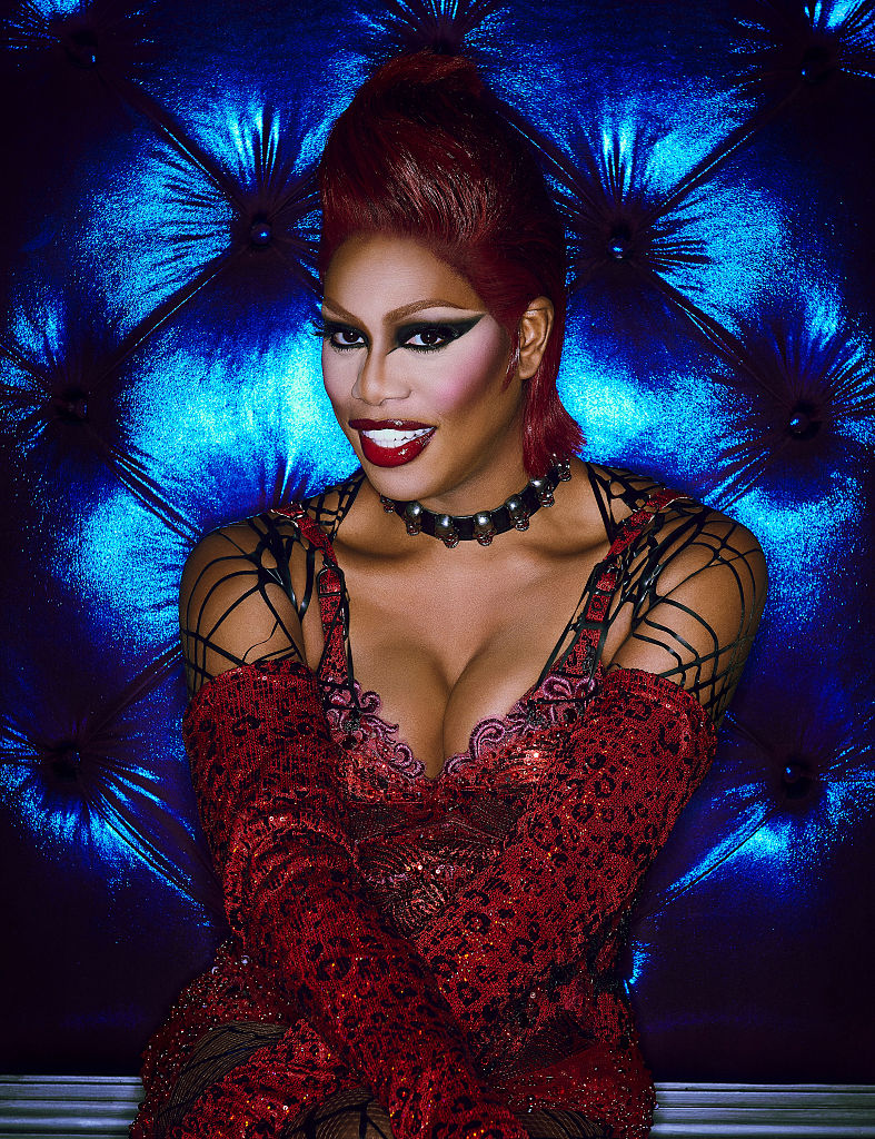 "Laverne Cox just shared this totally fierce sneak peek of ""Sweet Transvestite"" from ""Rocky Horror"""