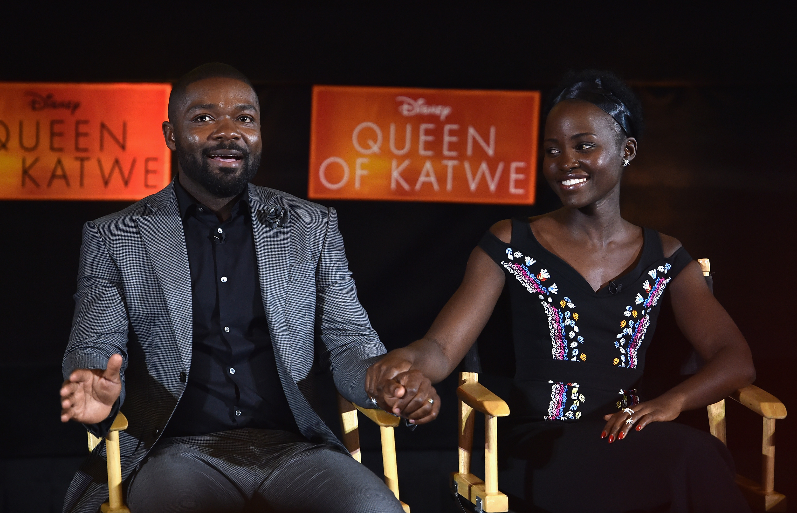 "David Oyelowo gushing over his ""Queen of Katwe"" co-star Lupito Nyong'o will warm your heart"