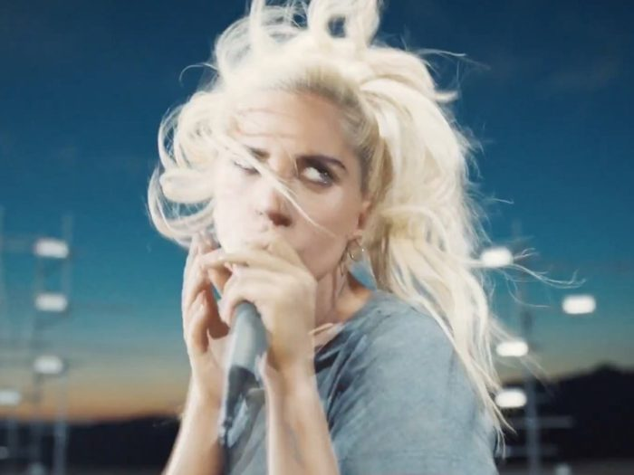 Lady gaga is a rock queen in the trippy perfect illusion video