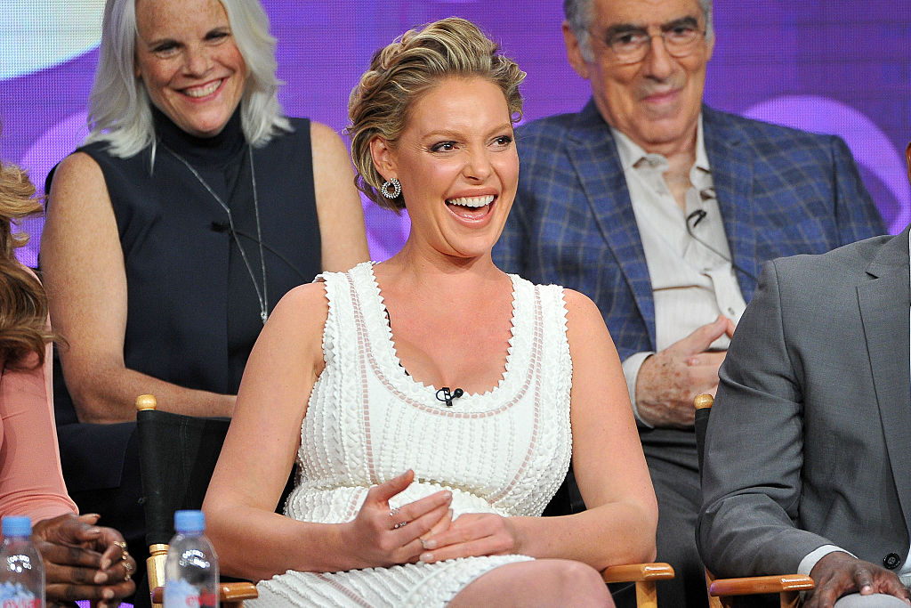 Katherine Heigl just shared a brand new picture of her baby bump, and it's incredibly sweet