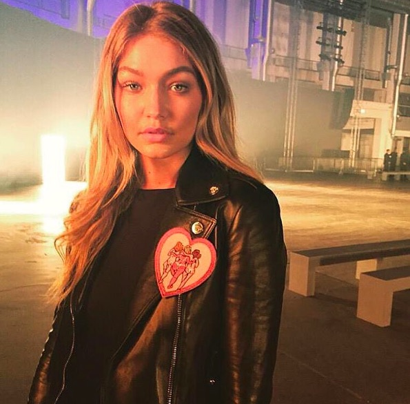 Someone photoshopped this Gigi Hadid pic with Bambi, and it weirdly works super well
