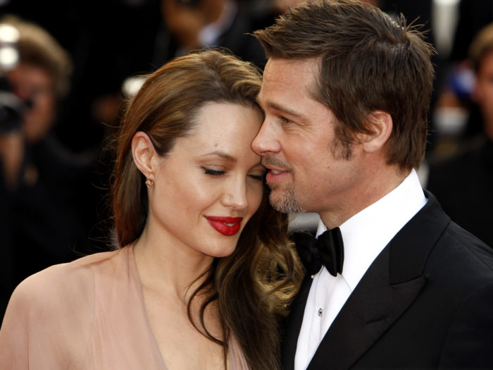 Awww, even the wax versions of Brad Pitt and Angelina Jolie got divorced